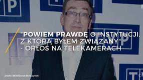 Maciej Orłoś na Telekamerach: mógłbym powiedzieć prawdę o instytucji, z którą byłem związany