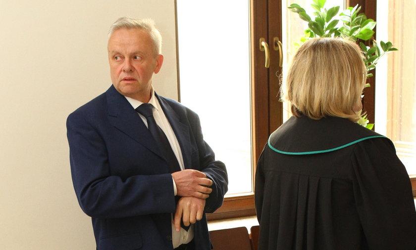 Mirosław Karapyta w sądzie w Przemyślu