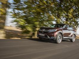 Honda CR-V 1.5 VTEC Turbo CVT - dużo miejsca i dobre prowadzenie