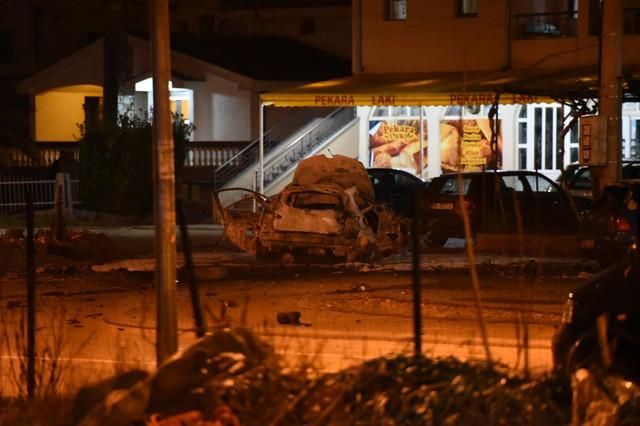 Podgorica eksplozija automobil