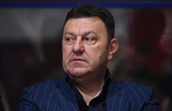 Dragan Bokan, predsednik Budućnosti