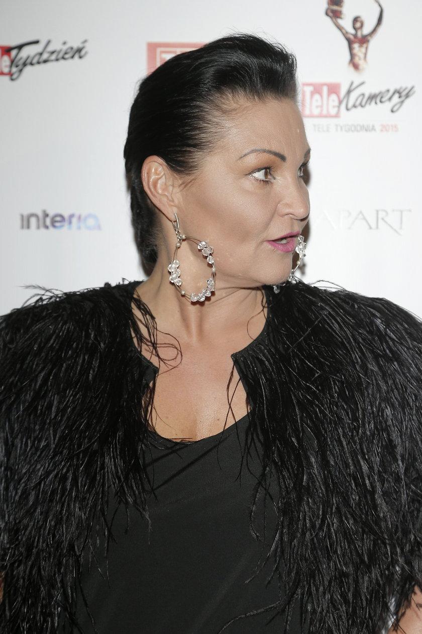 Iwona Pavlović na Telekamerach 2015
