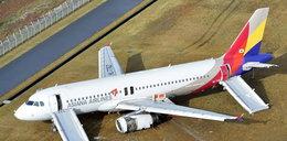Airbus wypadł z pasa! Kikadziesiąt osób rannych
