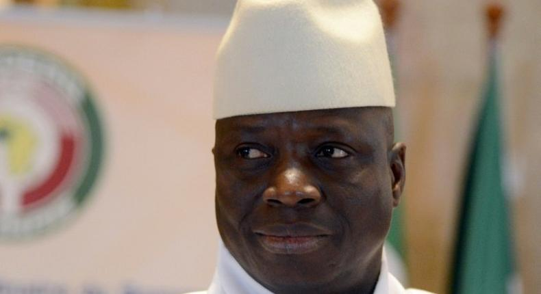 Former Gambian strongman Yahya Jammeh