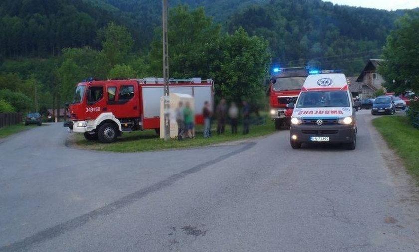 Wypadek w Zubrzyku