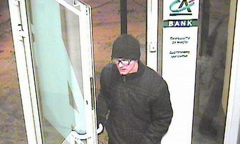 To on napada na banki, widziałeś go zadzwoń na policję