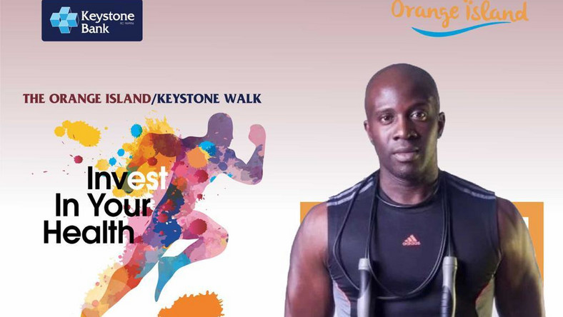 "Be part of ""Health Walk"" organised by Keystone Bank in collaboration with Orange Island"