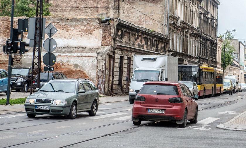 Ulice Zielona i Legionów w Łodzi będą częściowo wyłączone z ruchu dla samochodów