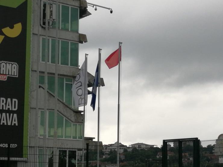 Crvene zastavice na Adi Ciganliji