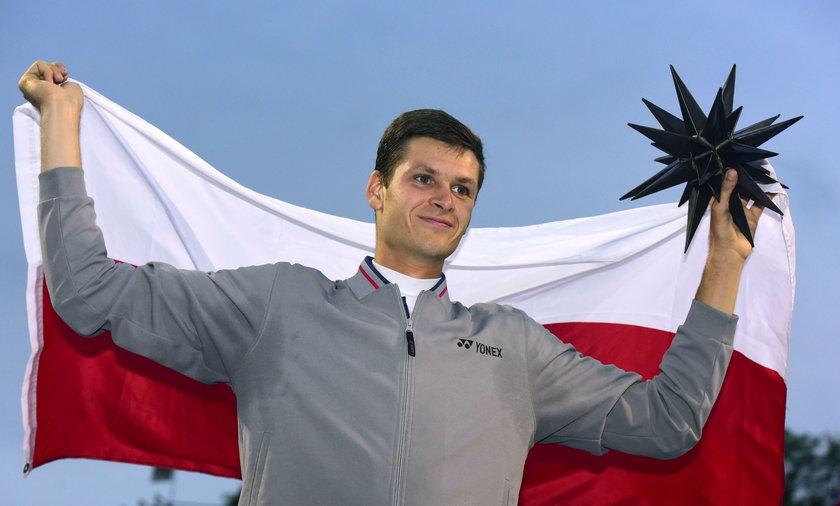 Hubert Hurkacz wygrywa turniej  w USA