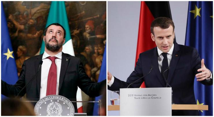 Salvini Makron