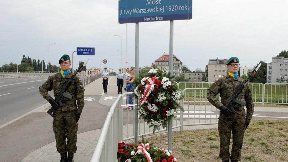 Most imienia Bitwy Warszawskiej w Opolu Fot. Urząd Miasta Opole