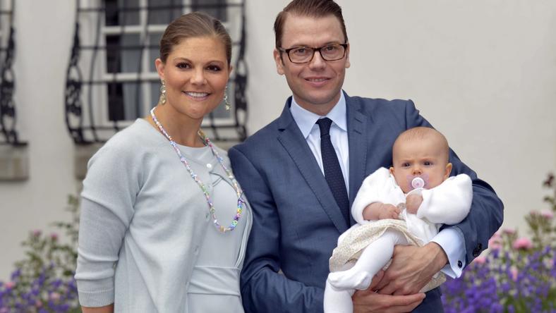 Księżniczka Wiktoria z córeczką Estelle / fot. Agencja Forum
