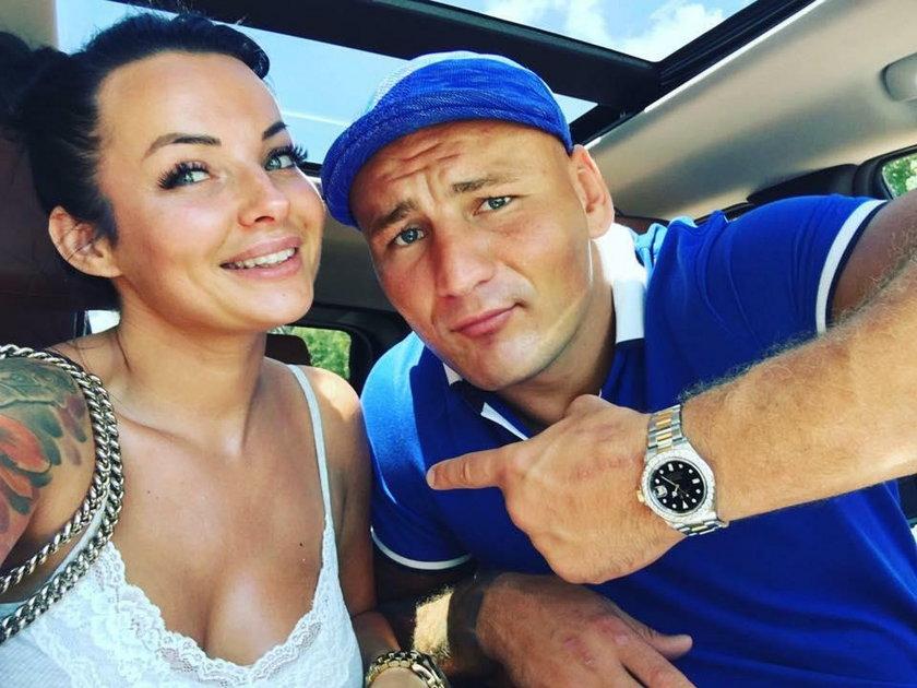 Kamila Wybrańczyk i Artur Szpilka