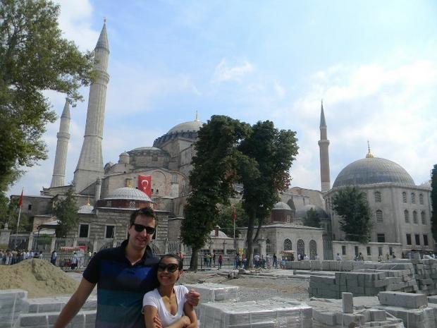Pierwszy kontrakt Michała, Stambuł, Turcja