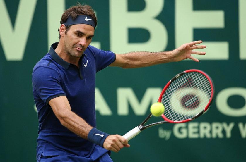 Roger Federer wrócił na kort. Tysiące kibiców powitało mistrza tenisa