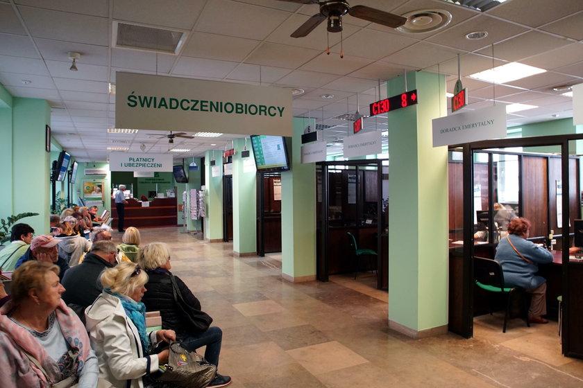 Jedna z placówek ZUS w Gdańsku