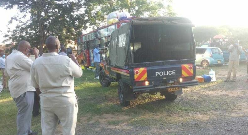 Panic as another passenger dies in a Matatu along the Mombasa-Nairobi highway
