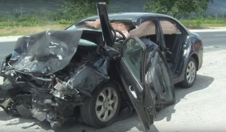 bugarska udes saobraćajna nesreća honda foto YT