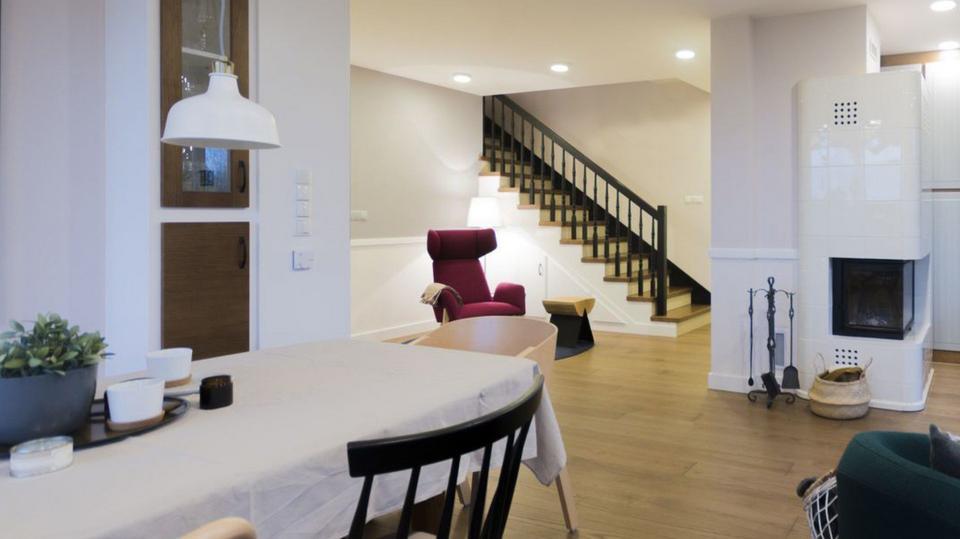 Bardzo dobra Wspaniale urządzony dom pod Warszawą - styl prowansalski w RC56