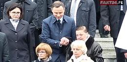 Szlachetny gest prezydenta na pogrzebie Gilowskiej