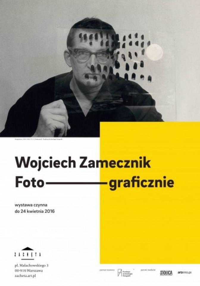 """""""Wojciech Zamecznik. Foto-graficznie"""" w Zachęcie - Narodowej Galerii Sztuki"""