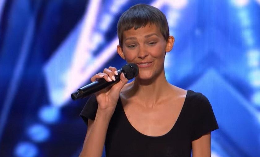 """Jane Marczewski wystąpiła w amerykańskim """"Mam talent"""". Przyznała, że walczy z rakiem"""