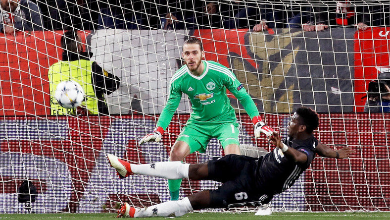 Paul Pogba i David de Gea