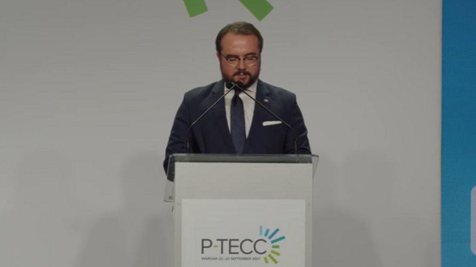 Paweł Jabłoński na PTECC. Fot. Wojciech Jakóbik