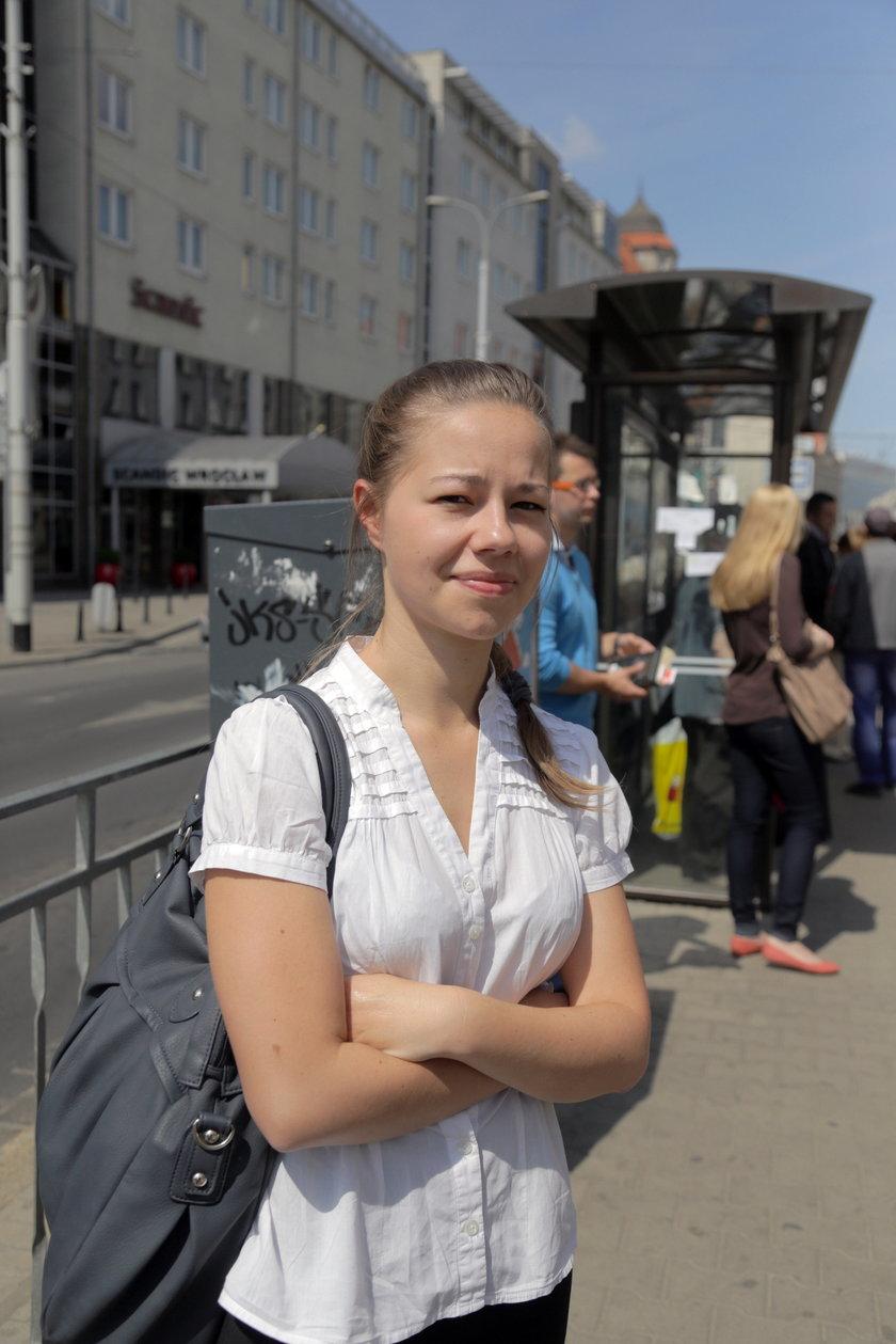 Marta Idzikowska (20 l.), studentka