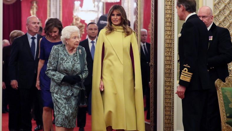 Pierwsza dama USA była zdecydowanie w centrum uwagi na wspomnianym przyjęciu...