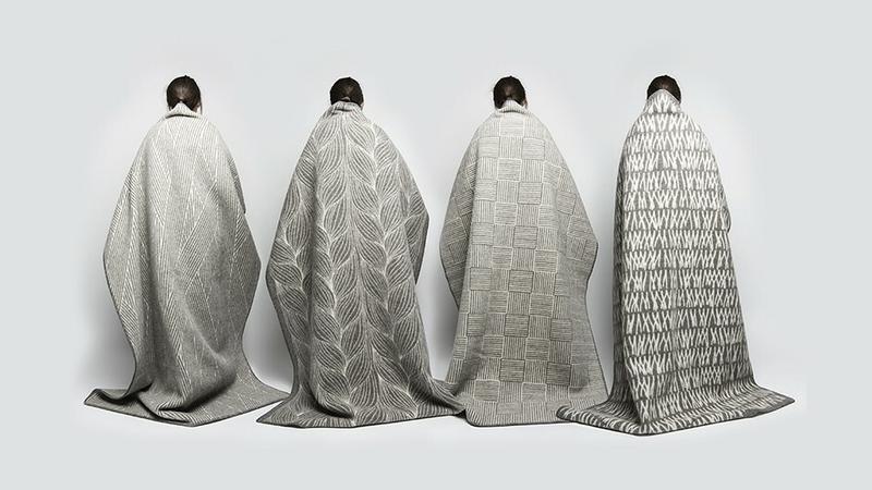 """Logika lokalności. Norweski i polski współczesny design"", Kristine Five Melvær, Naturpledd, 2015"