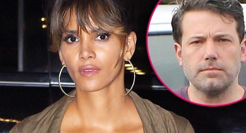 Ben Affleck crushing on Halle Berry?