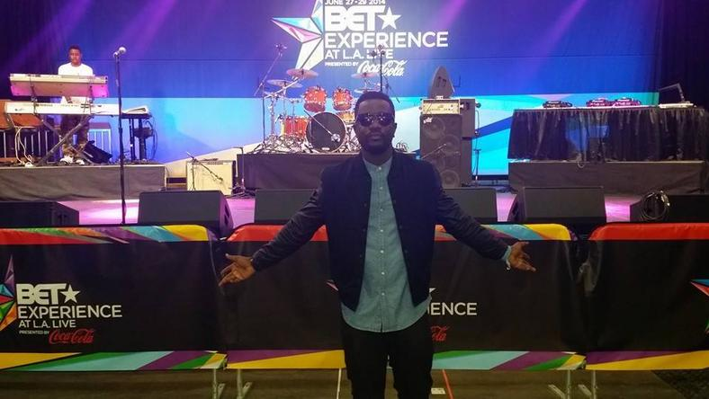 Sarkodie at BET Experience