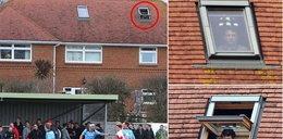 Zdyskwalifikowany trener oglądał mecz swoich piłkarzy przez okno!
