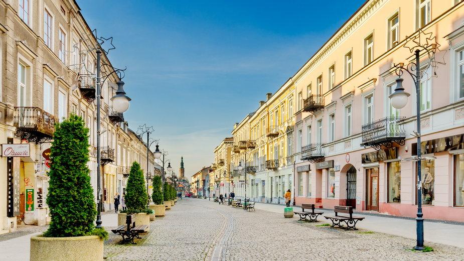 Radom, ulica Żeromskiego
