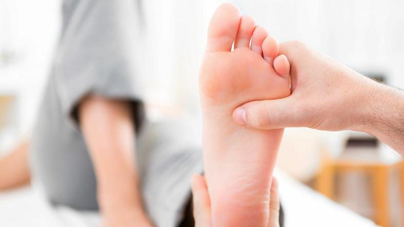 Masaż stopy, refleksologia