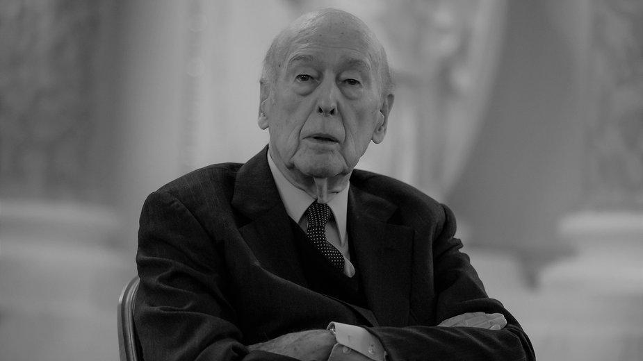 Valery Giscard d'Estaing nie żyje
