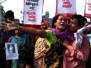 BANGLADESH RANA PLAZA AFTERMATH