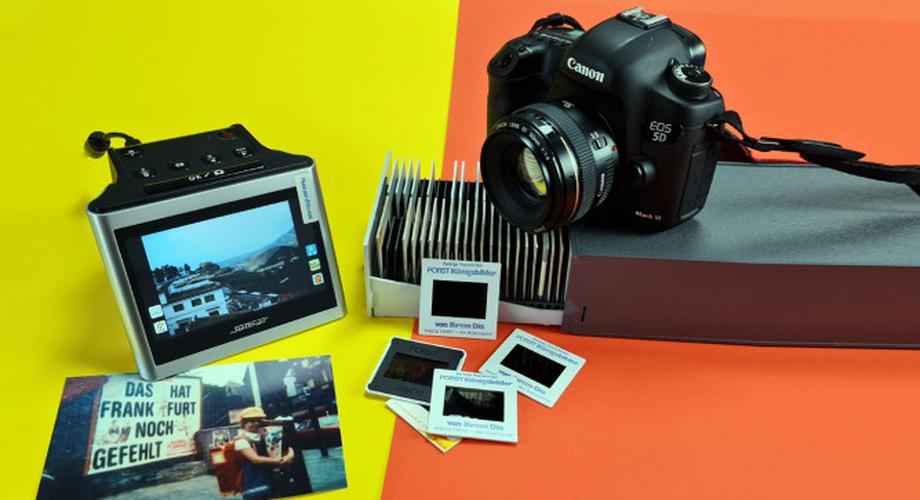 Ratgeber: Dias, Fotos und Negative richtig digitalisieren