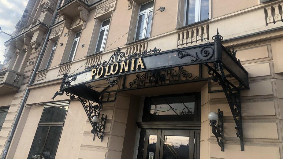 Dawny hotel Polonia