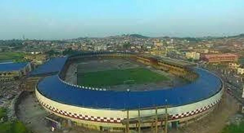 Oyo State Govt reconstructs the Lekan Salami Stadium in Ibadan. (Hotel.ng)