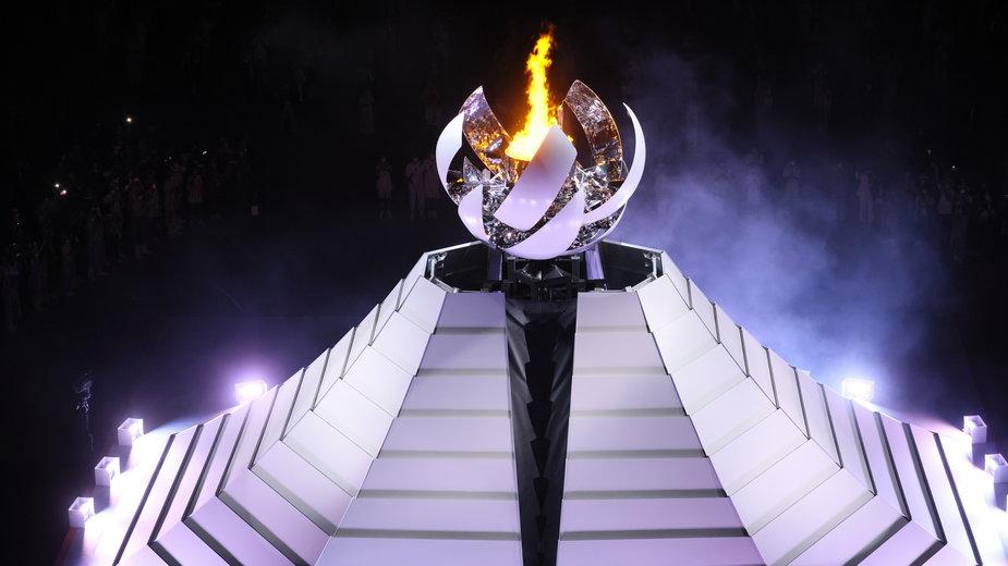 Ceremonia otwarcia IO na stadionie olimpijskim w Tokio