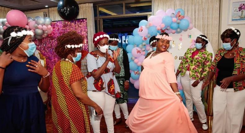 How MP Naisula Lesuuda's surprise baby shower went down in Photos