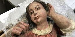 Skradziona 300-letnia rzeźba zwrócona... pocztą