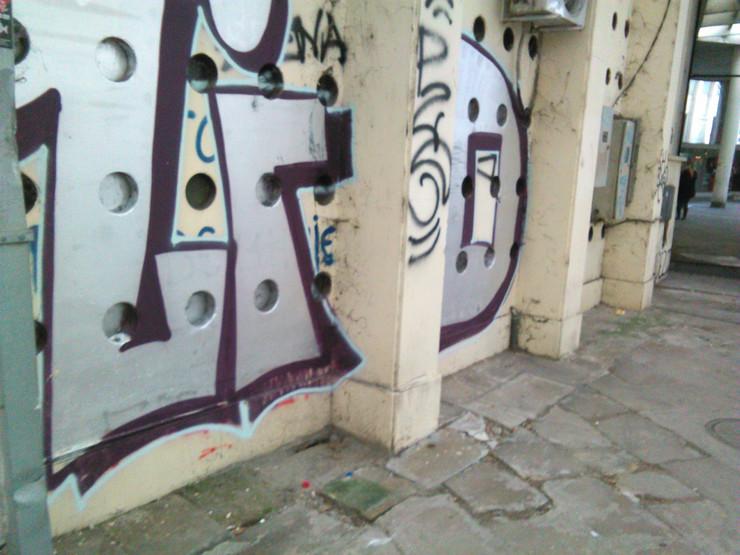 Zidovi prekriveni grafitima