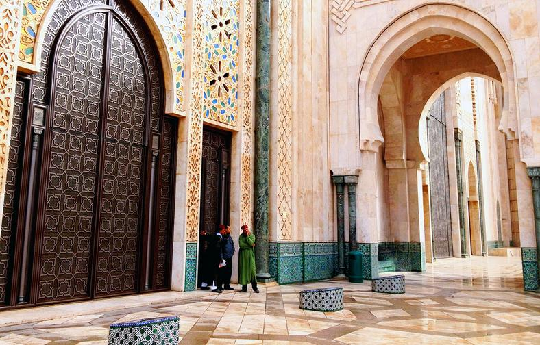 A peek inside Africa's largest mosque that can accommodate 25,000 faithfuls