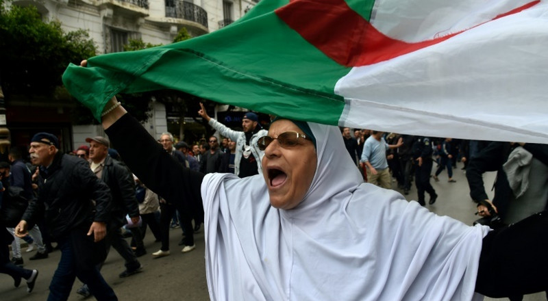 Algeria jails journalist for 'concealment of equipment' during protests