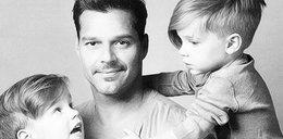 Ricky Martin z synkami promuje gejowskie rodziny