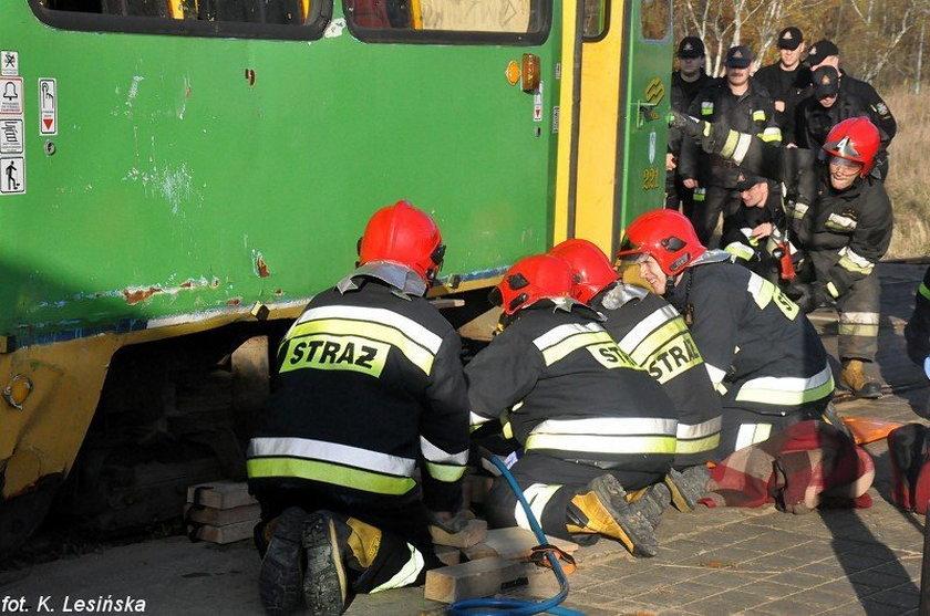 Ćwiczenia MPK i strażaków